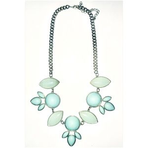 Jewelry - JADE INSPIRED STATEMENT NECKLACE